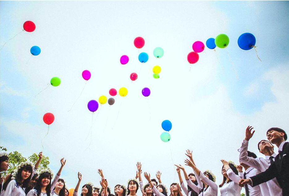 Image result for bơm bóng bay bằng khí heli